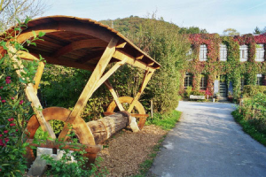 Industriedenkmal heute, Obenruedener Kotten, Foto: Lisa Demmer