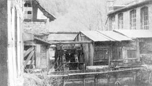 Mühlrad des Obenruedener Kotten, Foto: 1953 (unbekannt)