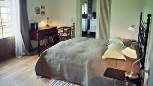 Steinhaus, Schlafzimmer Foto: Sonja Speck