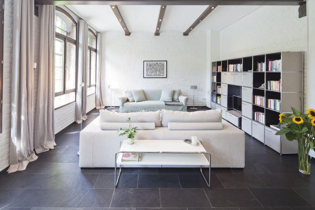 Wohnzimmer im Haupthaus, Obenrüdener Kotten, Foto: Sonja Speck