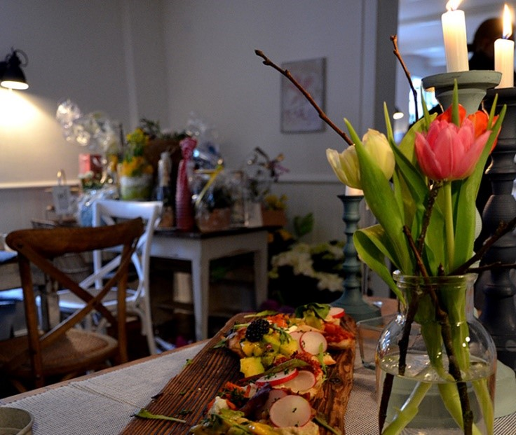 Gastraum in der Haasenmühle Solingen, foto: Nicole Planert